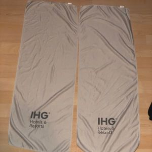 NWOT (2) IHG Hotels & Resorts Cooling Towels